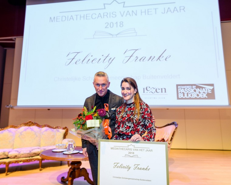 Mediathecaris Van Het Jaar Felicity Franke