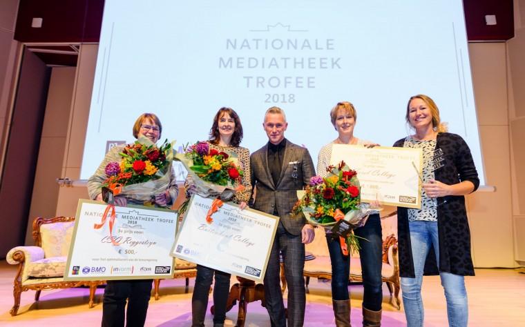 Winnaars Nationale Mediatheek Trofee 2018