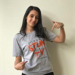 T-shirt Jonge Jury Maak stuk die tv