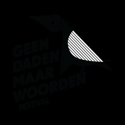 Logo Geen Daden Maar Woorden Festival - Passionate Bulkboek