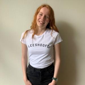 Jonge Jury T-shirt met opdruk Leeshoofd
