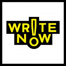 Logo schrijfwedstrijd Write Now!