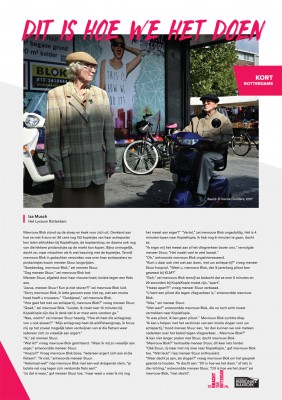 Kort Rotterdams - Iza Musch 'Dit is hoe we het doen'