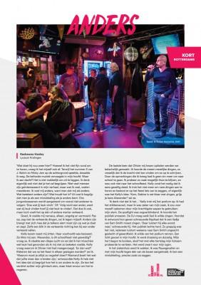 Kort Rotterdams - Keshawno Hanley met 'Anders'