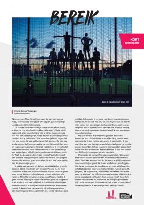 Kort Rotterdams - Fatma Senna Topaloglu met 'Bereik'