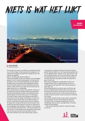 Kort Rotterdams - Jetske Mooldijk met 'Niets is wat het lijkt'