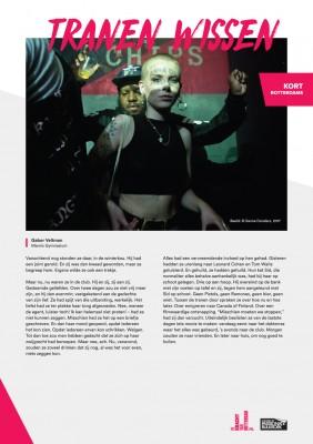 Kort Rotterdams - Gabor Veltman met 'Tranen wissen'
