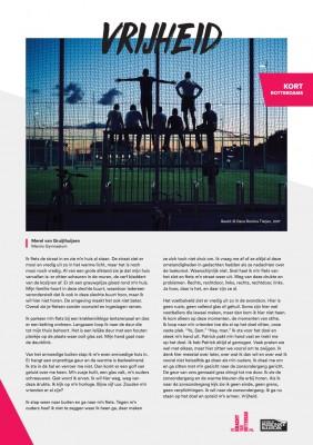 Kort Rotterdams - Merel Gruijthuijsen met 'Vrijheid'
