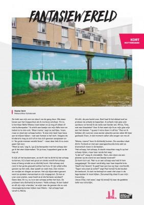 Kort Rotterdams - Hester Smit met 'Fantasiewereld'