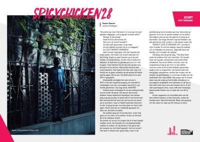 Kort Rotterdams - Nawin Narain met 'Spicychicken28'