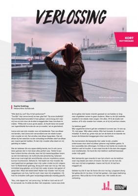 Kort Rotterdams - Sophie Soebhag met 'Verlossing'