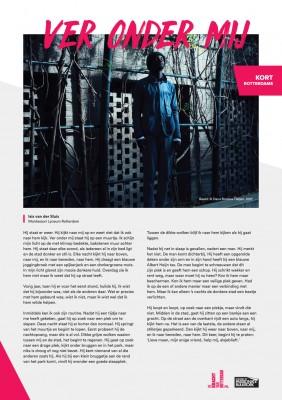 Kort Rotterdams - Isis van der Sluis met 'Ver onder mij'