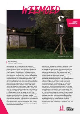Kort Rotterdams - Eline Zeelenberg met 'Weemoed'