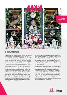 Kort Rotterdams - Djahmal Robert Goedhoop met 'Anna'