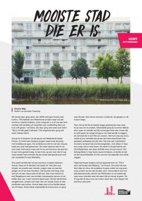 Kort Rotterdams - Charlie Wijn met 'Mooiste stad die er is'