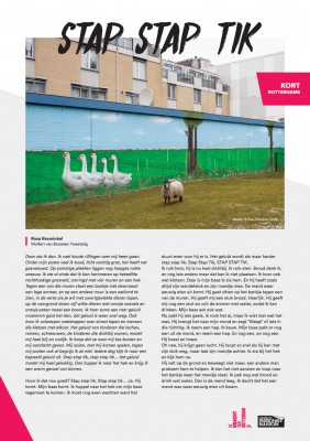 Kort Rotterdams - Rosa Rexwinkel met 'Stap stap tik'