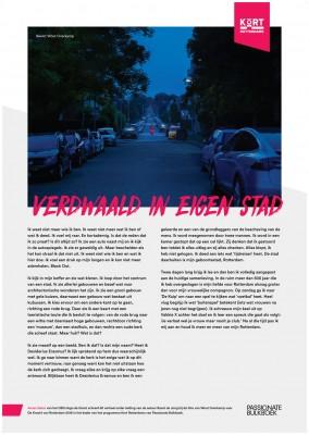 Kort Rotterdams Anass Sebar Verdwaald In Eigen Stad (OSG Hugo De Groot)