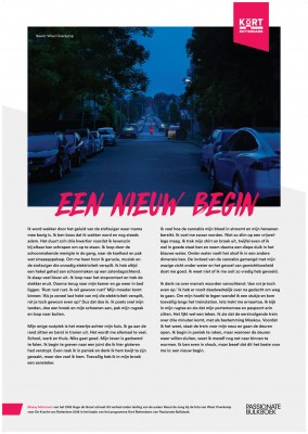 Kort Rotterdams Masay Marinovic Een Nieuw Begin (OSG Hugo De Groot)