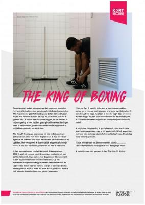 Kort Rotterdams Selma Bouda, Hasna El Morabit En Jelena Milenic The King Of Boxing (Montessori Lyceum Rotterdam)