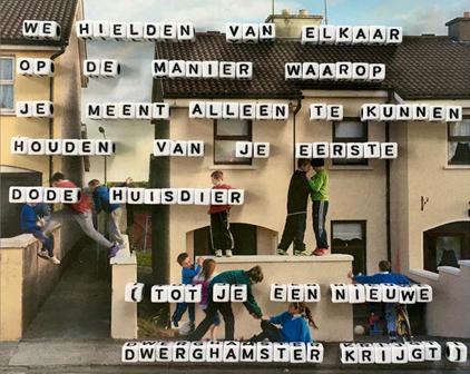 Write Now! Elianne Van Elderen Gedicht