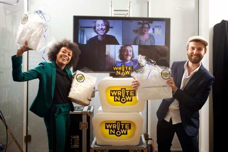 Write Now! 2020 winnaar Jordi Lammers