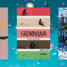 De drie genomineerden voor de Jonge Jury Debuutprijs 2020
