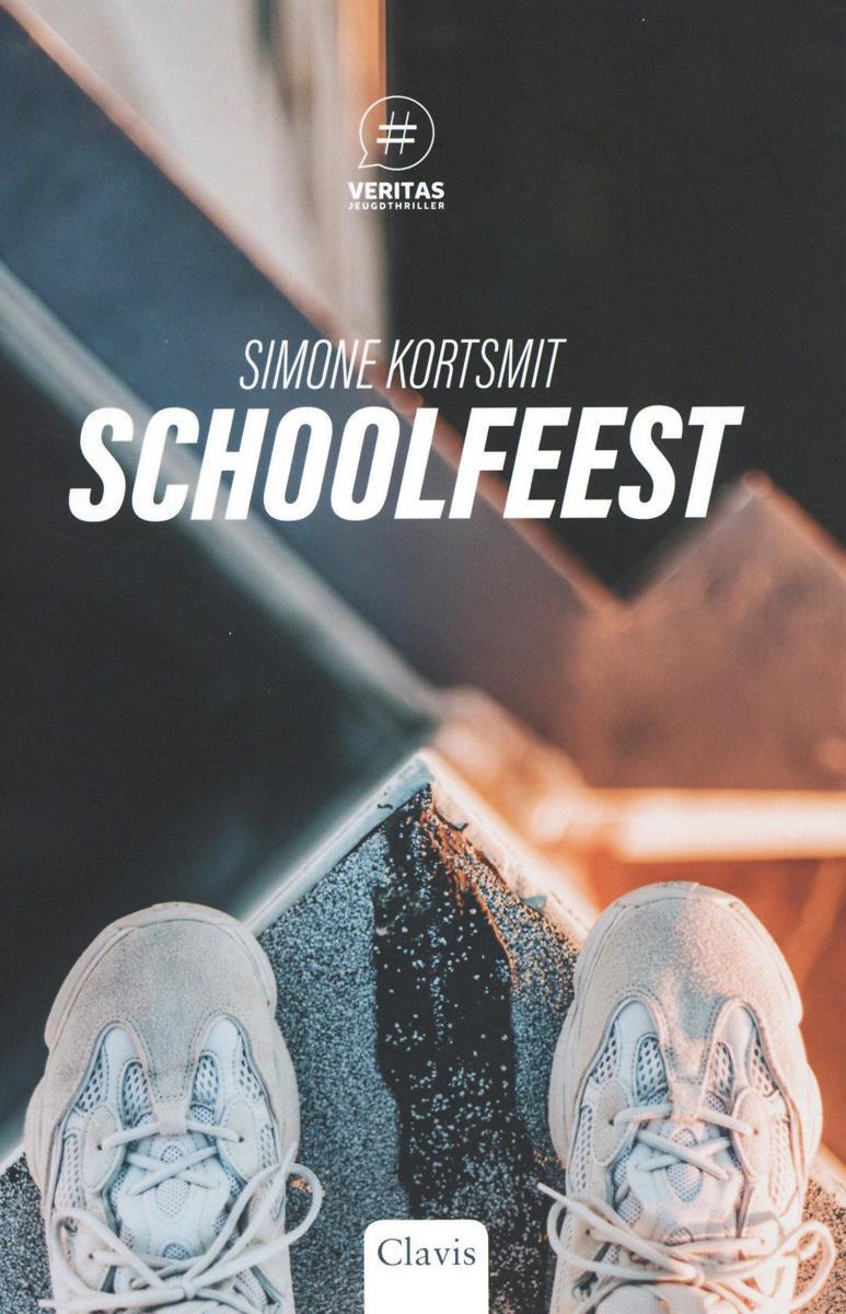 Het boek 'Schoolfeest' van Simone Kortsmit is één van de elf Leestips van de Jonge Jury 2020