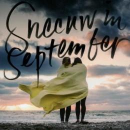 Cover van het boek 'Sneeuw in september' van Kathelijn Vervarcke.