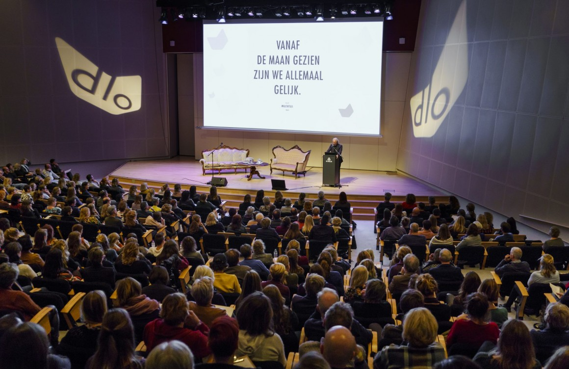 Opening Dag van het Literatuuronderwijs 2018 met Stefan Hertmans