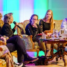 Talkshow tijdens de Dag van de Literatuur 2019